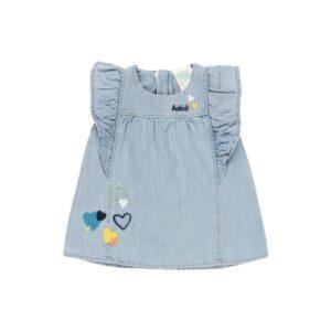 Boboli Φόρεμα 132039-BLEACH