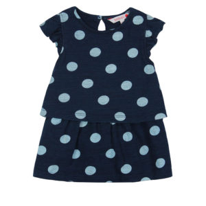 Boboli Φόρεμα Knit dress flame for baby girl 207133