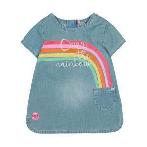 Boboli Φόρεμα Denim dress for baby girl 237068