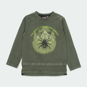 Boboli Μπλούζα Χακί 511018-4523