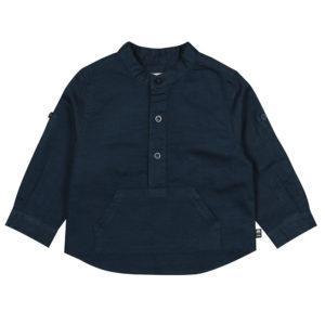 Boboli Πουκάμισο Linen shirt long sleeves for baby boy 717038