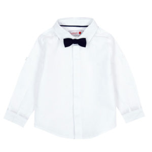 fe5e2becd Boboli Πουκάμισο Linen shirt long sleeves for baby boy 717140