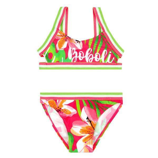"Boboli Μαγιό Bikini ""floral"" for girl 827355"