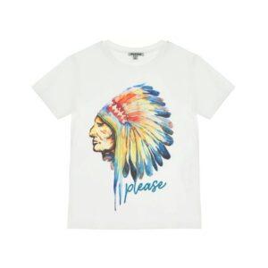Please Μπλούζα T-shirt MB17030B-3102