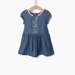 Ikks Φόρεμα Τζιν XN30090